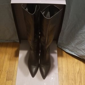 Nine West Size 12 Nwearta Knee High Boots
